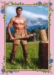 Photokunst Lumberjack aus der Werkreihe Heimatliebe