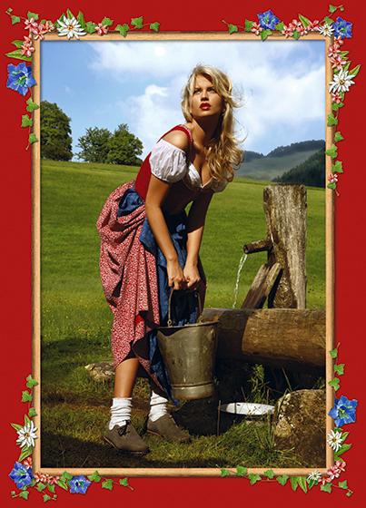 Photokunst Spring Water aus der Werkreihe Heimatliebe