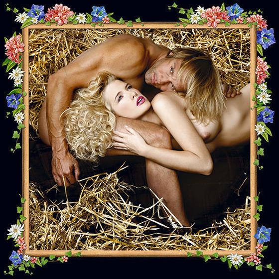 BONDS OF LOVE, 2008 - 120x120 cm