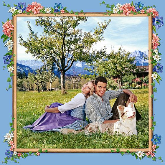 SUMMER LOVE, 2003 - 120x120 cm