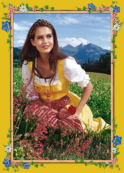 Photokunst Sunshine and Roses aus der Werkreihe Heimatliebe