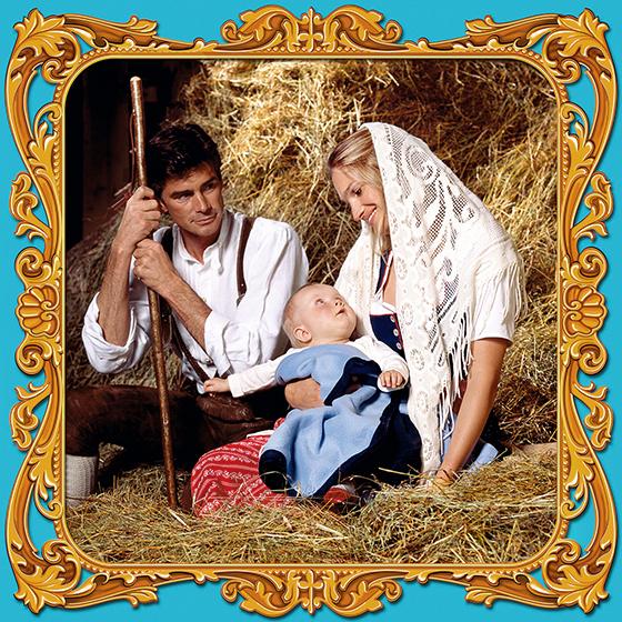 HOLY FAMILY, 2005 - 120x120 cm
