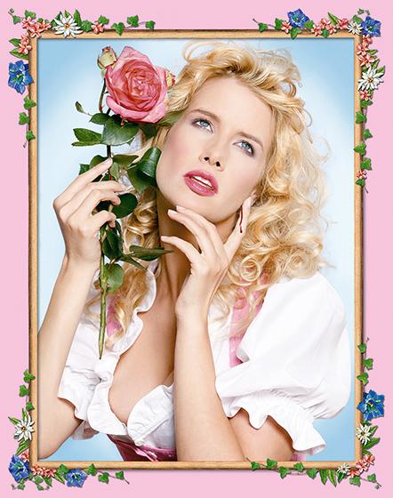 Photokunst Every Rose Has Its Thorn aus der Werkreihe Heimatliebe