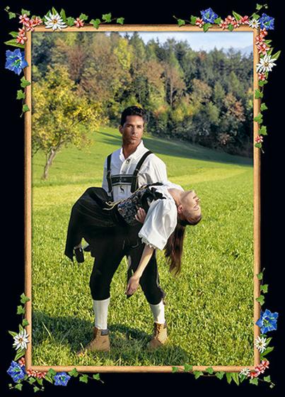 Photokunst Knight in Shining Armor aus der Werkreihe Heimatliebe