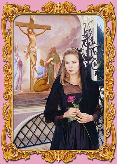 Photokunst Pink Madonna aus der Werkreihe Heimatliebe
