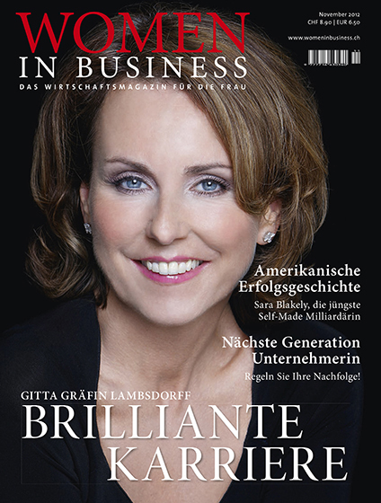 Magazincover von Gitta Graefin Lambsdorff Tiffany ©Sarosdy