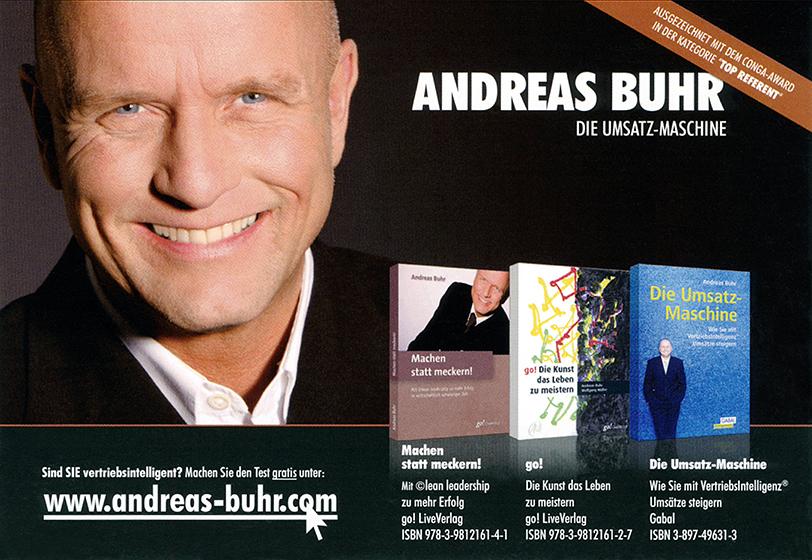 ANDREAS BUHR I AUTORENPORTRAIT I BUHR&TEAM