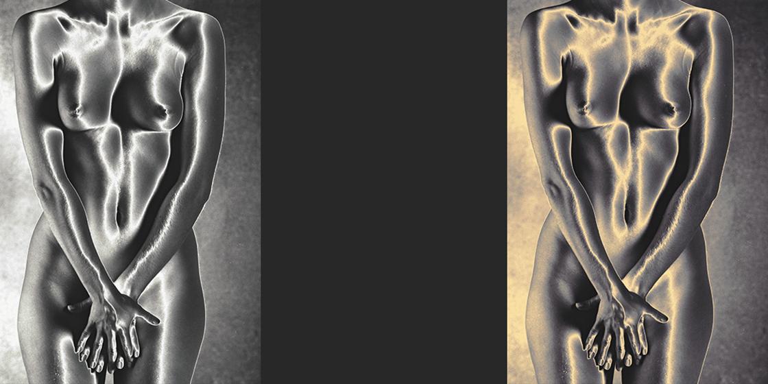 Solaristion Classic Black and White Nude Photography©sarosdy