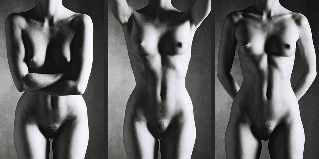 FEMALE TORSO Classic Black and White Nude Photography©sarosdy