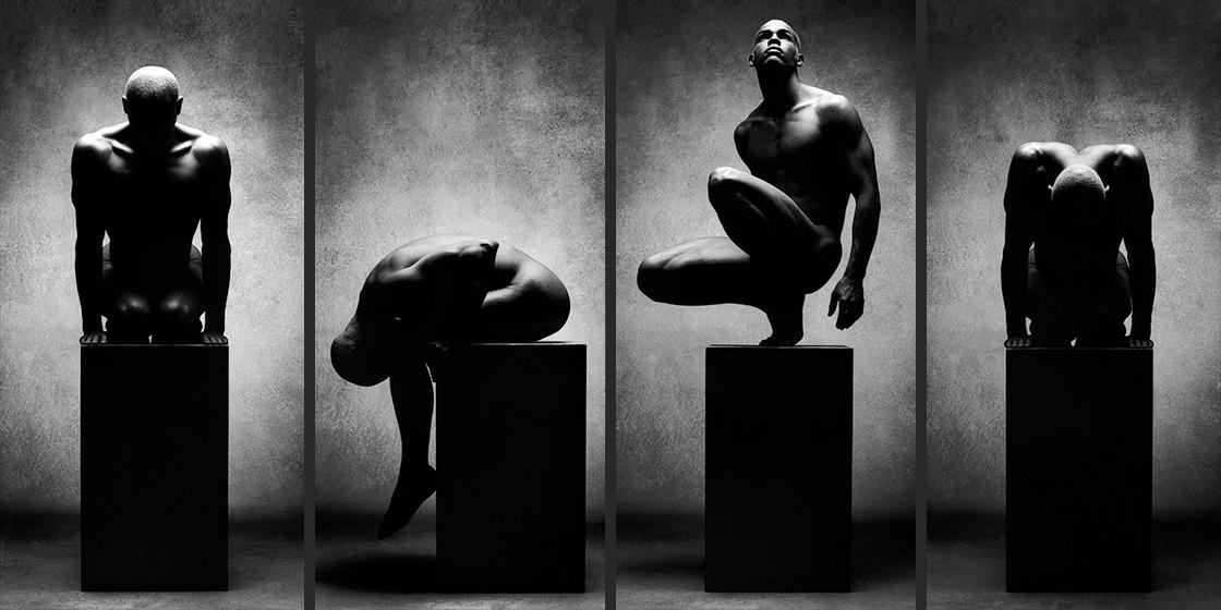 AFRICAN NUDE aus der Werkreihe Body Sculptures©sarosdy