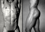 ATHLETE AUS DER WERKREIHE BODY SCULPTURES©sarosdy