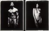 Polaroid Classic Black & White Nude Photography©sarosdy