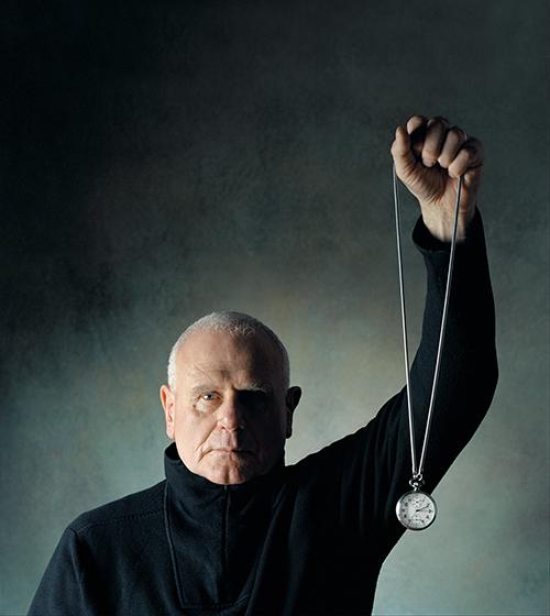 Kuenstlerportrait, Charakterportrait von Klaus Rinke ©Sarosdy