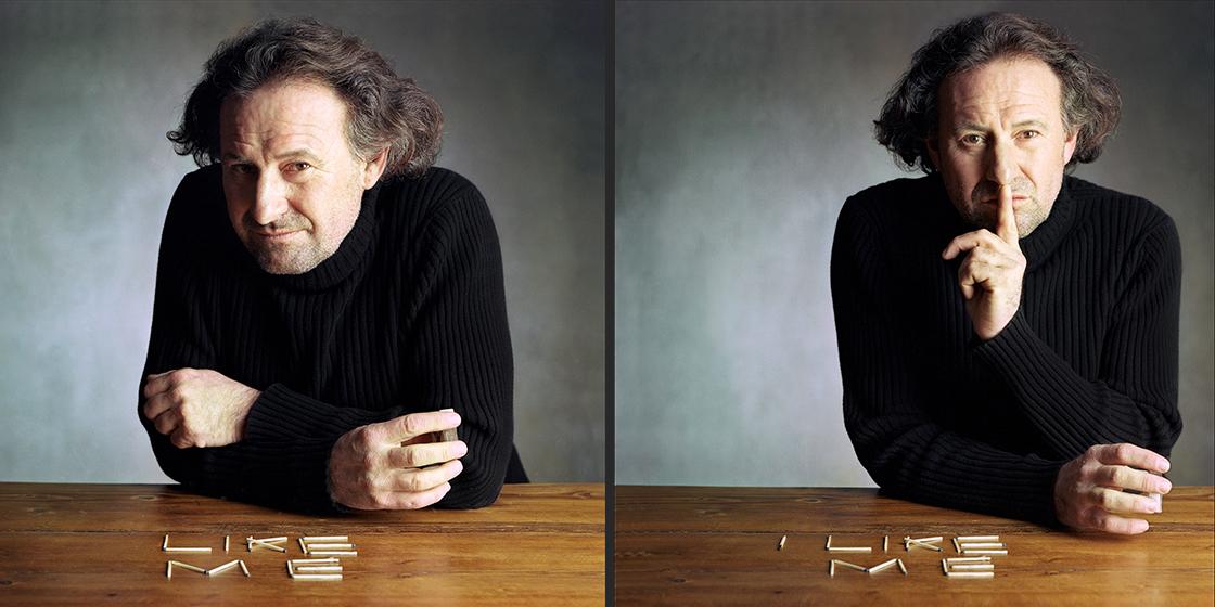 Charakterportrait, Schauspielerportrait von Walter Sachers ©Sarosdy